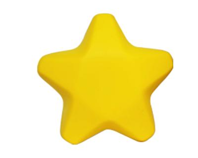 Promotional Stress Star Yellow