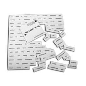 MWS1 Magnetic word sheets