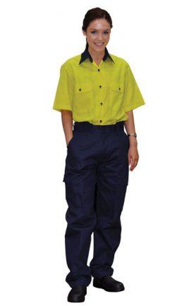 WP15 Ladies' Heavy Cotton Pre-shrunk Drill Pants