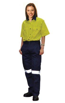 WP15HV Ladies' Heavy Cotton Pre-shrunk Drill Pants