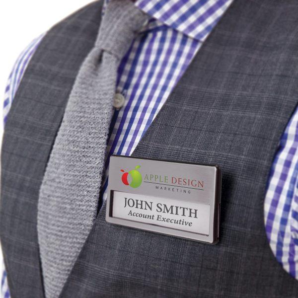 Magnetic Name Badge - 112549