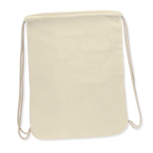 Durban Cotton Drawstring Backpack - 112909