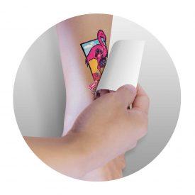Temporary Tattoo Glitter - 51mm x 76mm - 113192
