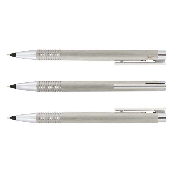 Lamy Logo Pencil - Brushed Steel - 113796