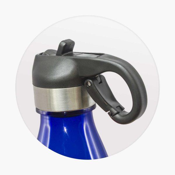 Mirage Translucent Bottle - Flip Lid - 113809