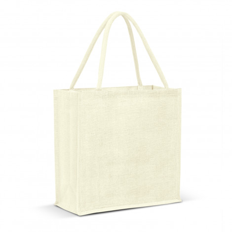 Monza Jute Tote Bag - Colour Match - 115324