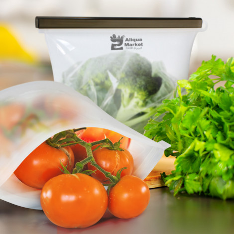Silicone Reusable Storage Pouch - 118122