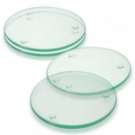 Venice Glass Coaster Set of 4 Round - Full Colour - 120167